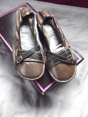 Fugitive Belles Ballerines En Cuir Pointure 38
