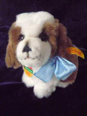 Darling STEIFF Dog - Cosy Friends with Button and Tag