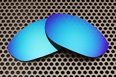 New Volt Blue Replacement Lenses for Oakley Monster Dog