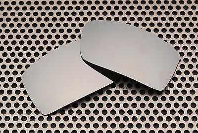 New Volt Polarized Silver Replacement Lenses for Oakley Gascan