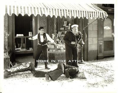 Hal Roach Stan Laurel And & Oliver Hardy Two Tars Film Still
