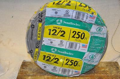 SouthWire Company 12/2 with Ground UF-B Wire 250-Foot 600 Volts NEW