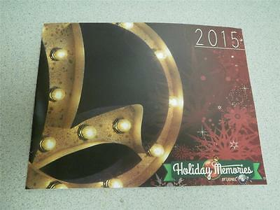 Lionel 2015 Holiday Memories By Lionel Catalog- 19 Pages- New