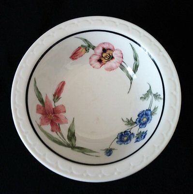 RAILROAD CHINA SPRR/Southern Prairie Mountain Wildflowers Cereal Bowl, No RRBS