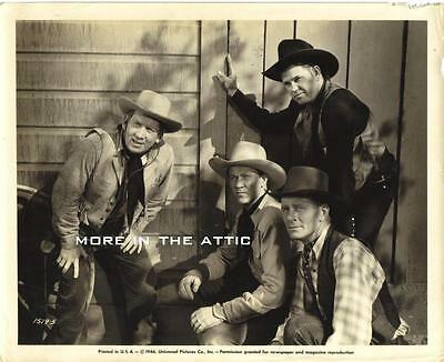 Kirby Grant And Friends Orig Rustler's Round Up Universal Pictures Western  #1