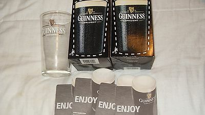 2 Guinness Perfectionist Kits And 5 Mats