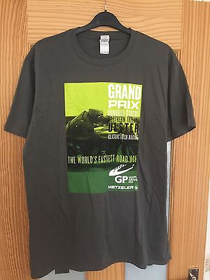 Ulster GP T Shirt, Superbikes, Road Racing, Size XL,