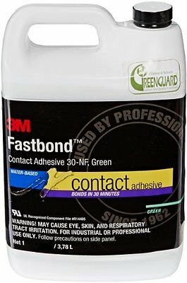 3M 30NF Green Fastbond Contact Adhesive, 1 Gallon