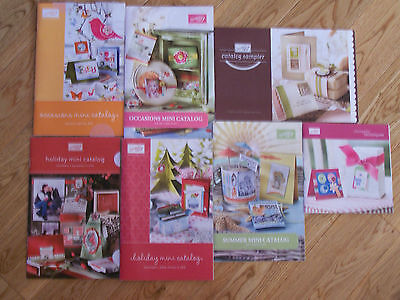 Stampin' Up! Holiday/Summer/Occasions Mini Catalogs-Retired-Plus Catalog sampler
