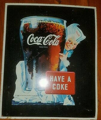 Coca Cola Have a Coke  Metal Sign. Retro Vintage