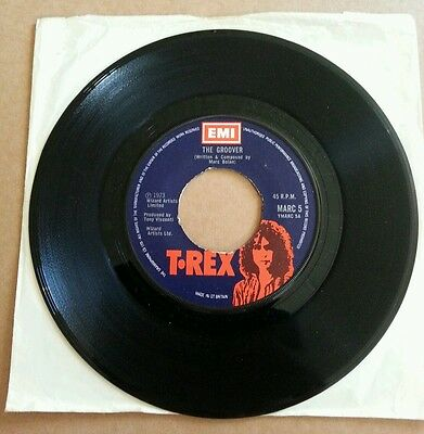 "7"" Single, T Rex, The Groover / Midnight"