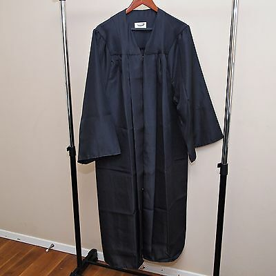 NEW - Jostens Black Graduation Gown Robe - Many Sizes - Mens Womens Unisex