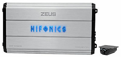 Hifonics Zeus ZXX-3200.1D 3200W RMS Mono Block Class D Car Audio Amplifier Amp
