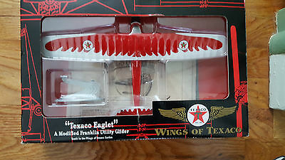 "Ertl ""texaco Eaglet"" A Modified Franklin Utility Glider Coin Bank"