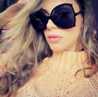 OVERSIZED Big Large Square BELLA  Women Sunglasses Baroque Shades