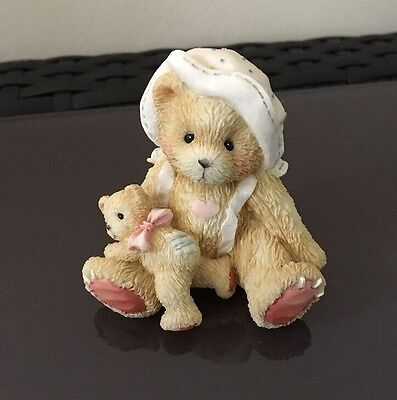 Cherished Teddies - 'PHOEBE' Figurine ('A Little Friendship Is A Big Blessing')