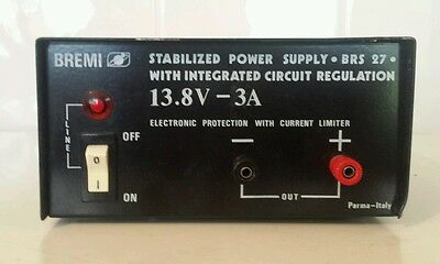 A Bremi Stabilized power supply. BRS 27 with integrated circuit regulation