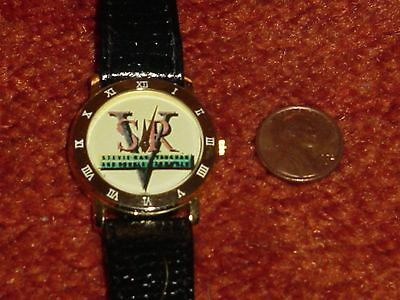 Rare Stevie Ray Vaughan Promo Watch Leather Band + Free Shipping. Rare