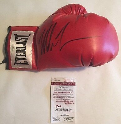 Mike Tyson Autographed Right Handed Everlast Glove JSA Witnessed COA