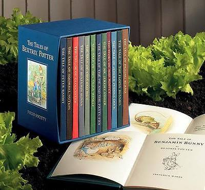 FOLIO SOCIETY * The Tales Of Beatrix Potter* 11 hardcover volumes  NEW & SEALED