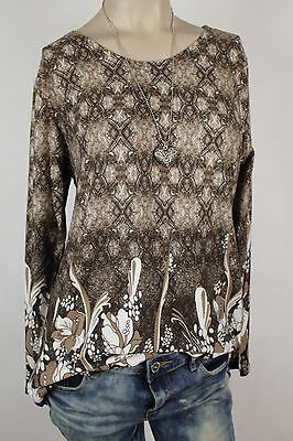 NEW WOMEN  TUNIC  BLOUSE size 14/16 TOP  LONG SLEEVE  LADIES   7314