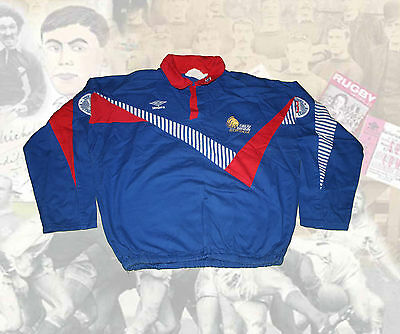 GREAT BRITAIN RUGBY LEAGUE UMBRO TRAINING TOP RUGBY JERSEY Size SMALL
