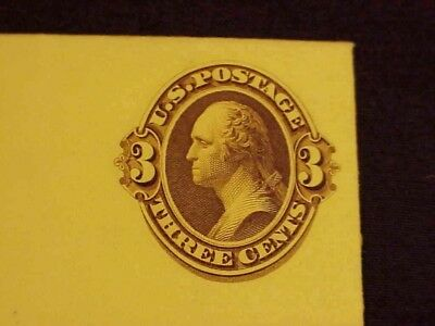 T64R Us Mint Entire Essay, 3C Yellow-Brn Washington On Canary,1870,nat Bank Note