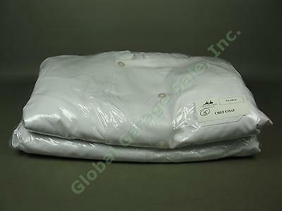Wholesale Lot 10 XL White Restaurant Cater Chef Coat Jackets 65% Poly 35% Cotton