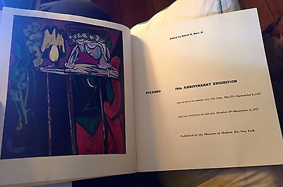 Pablo Picasso MOMA 75th Anniversary Exhibition, 1957 Museum of Modern Art Illus.