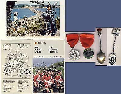 Scottish Clan Donnachaidh Piper Thistle Spoons HighlandGame Medals Seattle 1950s