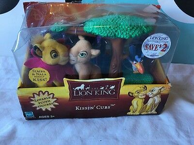 The Lion King Kissin´Cubs Mini Set NIB Zazu Simba Nala Very Rare