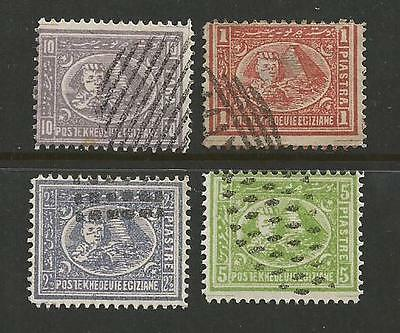 Egypt Pyramid & Spinx forgery stamp group of 4