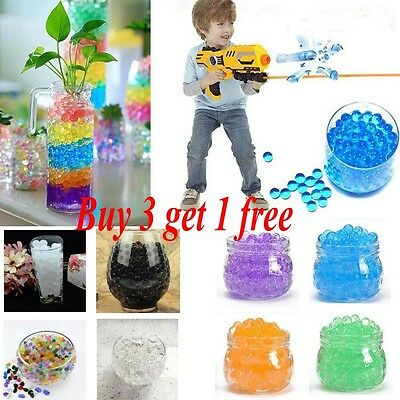 5000Pcs Colorful Water Plant Flower Jelly Crystal Soil Mud Hydro Gel Beads Balls