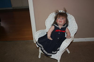 Handmade Lifelike Reborn Doll  Soft Vinyl   Toddler Girl