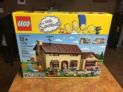 LEGO Simpsons 71006 The Simpsons House New in sealed Box Bb
