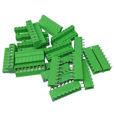 10 Sets 2EDG 8 Pin 8P Plug-in Screw Terminal Block Connector 5.08mm Pitch
