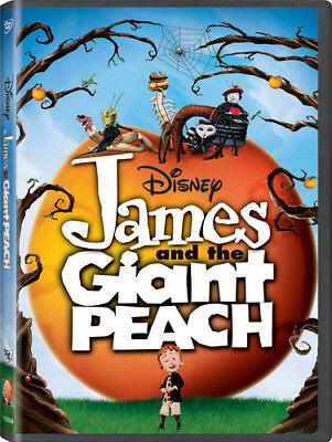 James and the Giant Peach [New DVD] Ac-3/Dolby Digital, Dolby, Dubbed, Digital