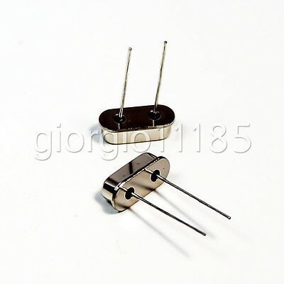 US Stock 20pc 3.579545MHZ HC-49S Crystal Oscillator Arduino Raspberry Breadboard