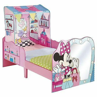 Minnie Mouse 'startime' Junior Toddler Feature Bed New Disney