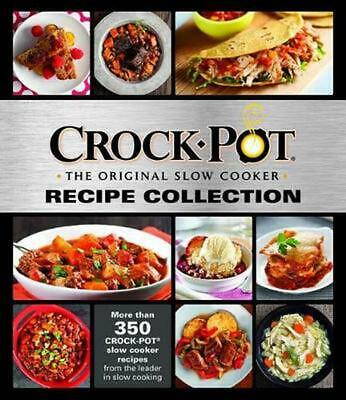 Crockpot Recipe Collection (English) Hardcover Book Free Shipping!