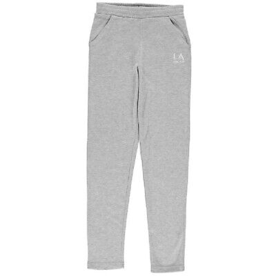 Girls La Gear Tracksuit Bottoms Pants Trousers Age 7 8 9 10 11 12 13 New Sport