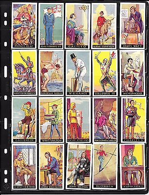 "WILLS: part set: ""FAMOUS MINORS"" c1936:     #01"