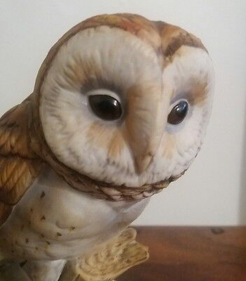 Maruri - Figure of Barn owl  excellent great detail Chancery Collection