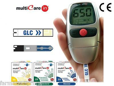 MULTICARE In 10 Strisce Colesterolo - TEST STRIPS CHOLESTEROL
