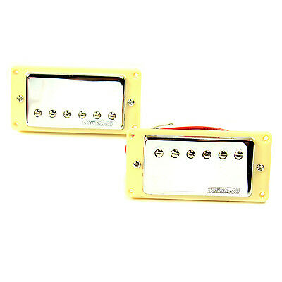 Wilkinson Electric Guitar Pickups Chrome Humbuckers Set for Gibson Epiphone