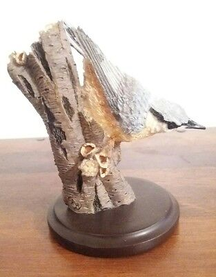 COUNTRY BIRD COLLECTION ANDY PEARCE - the nuthatch eaglemoss
