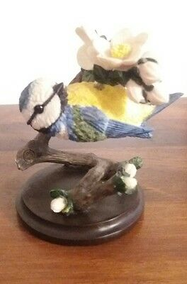 COUNTRY BIRD COLLECTION ANDY PEARCE - the blue tit eaglemoss