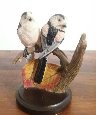 COUNTRY BIRD COLLECTION ANDY PEARCE - the tailed-tit eaglemoss