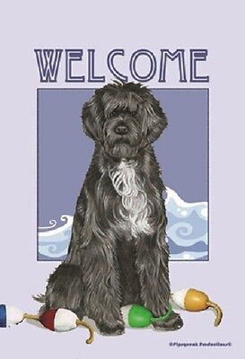 Garden Indoor/Outdoor Pipsqueak Flag - Portuguese Water Dog 495771
