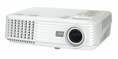 Nec Np100 2000 Lumens Hdmi Home Cinema Projector New 4000 Hour Lamp